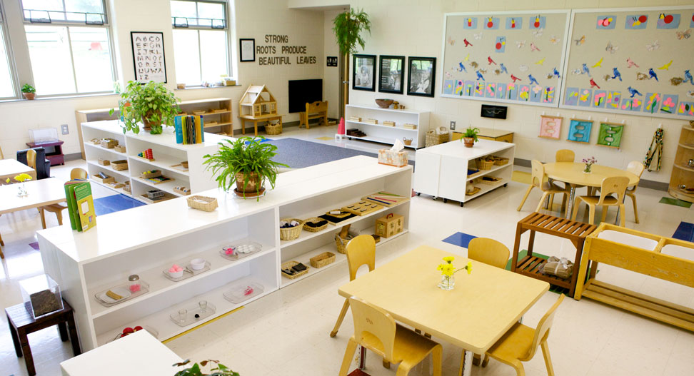 Montessori Classroom Wall Design ~ About montessori children s house of valley forge